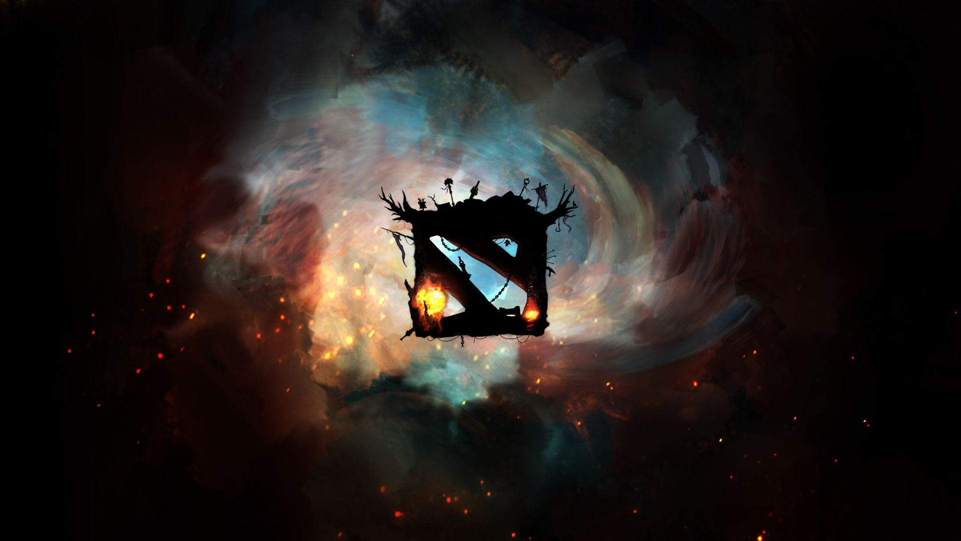 Dota 2 Logo Cool Wallpaper High Resolution Wallpaper Full Size