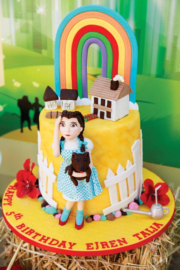 Magical Wizard of Oz Birthday Cake