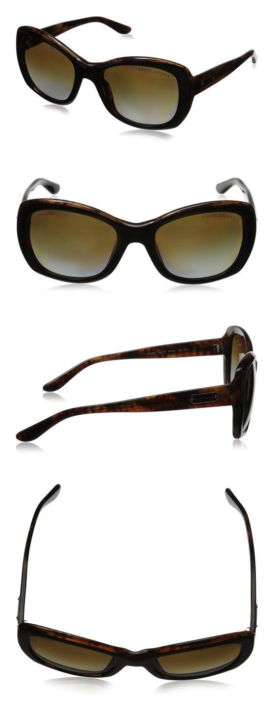 f900fa4dbf3  93.42 - Ralph Lauren Women s 0RL8132 Square Sunglasses Top Black Havana  Brown  ralphlauren