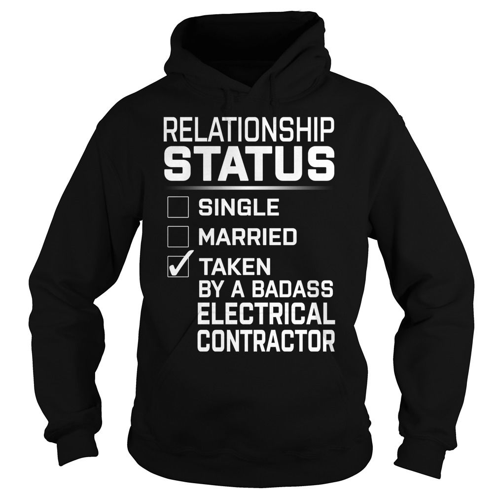 Taken By A Badass Electrical Contractor Job Title TShirt