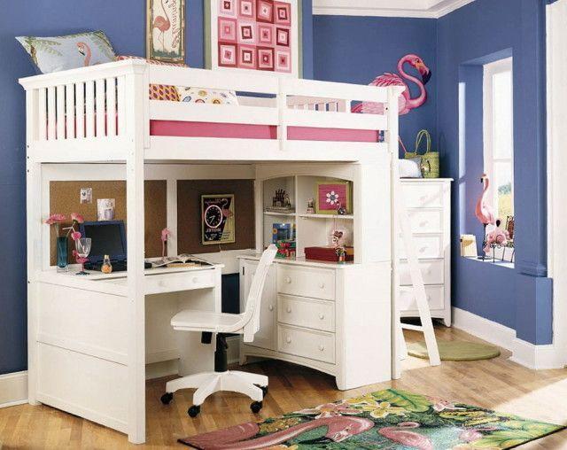 Attraktiv Loft Betten Für Mädchen   Schlafzimmer