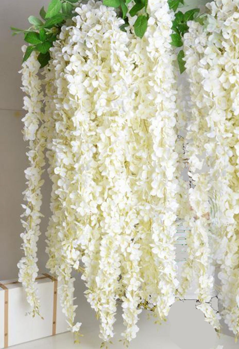 Plumeria frangipani silk flower garland cream 7 long bendable popular for using in hawaiian leis the striking beauty of plumeria flowers has been captured in our new 7 foot long cream colored garland izmirmasajfo Images