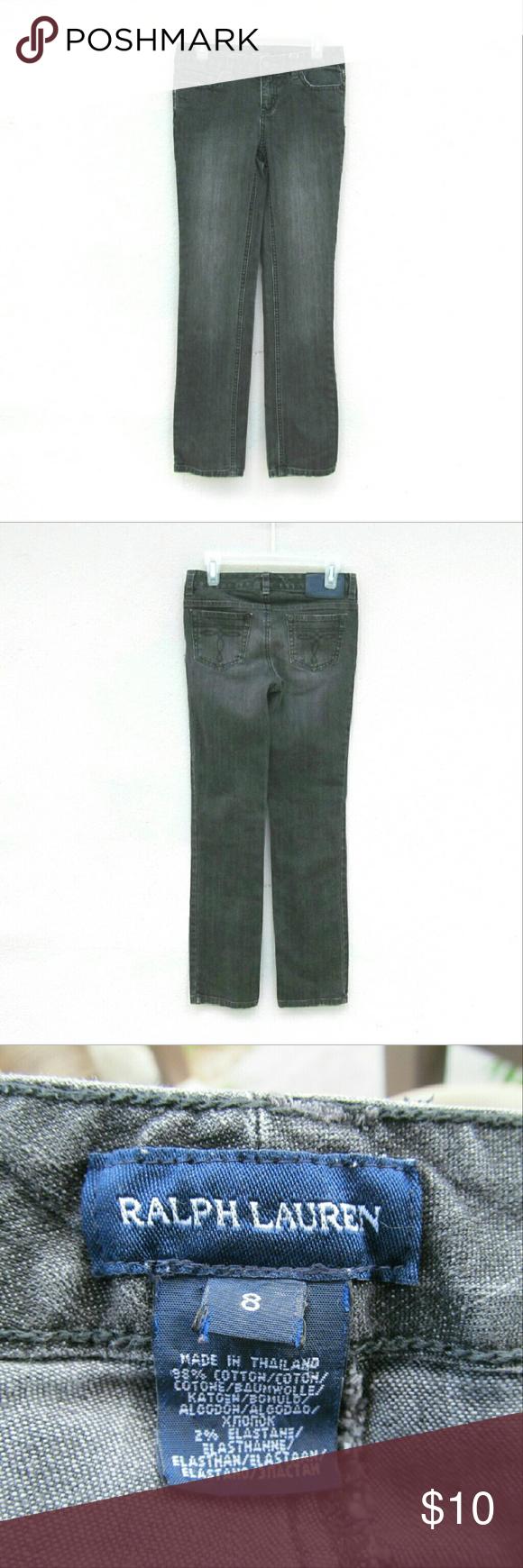 Ralph Lauren Girl Denim Pants Size 8 I offer bundle discounts! Ralph Lauren Bottoms Jeans