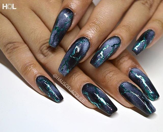 Interesting Nail Art Design | art, beauty, fragrance, hair , nails ...