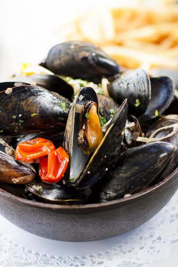 Mussels Provencale at Chez Papa | PinoY Food | Pinterest | Mussels ...
