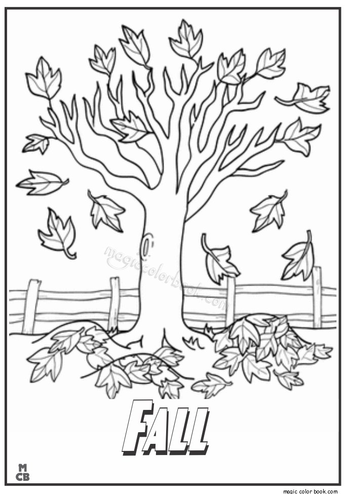 Pin by Magic Color Book on Autumn/Falls Coloring pages | Pinterest ...