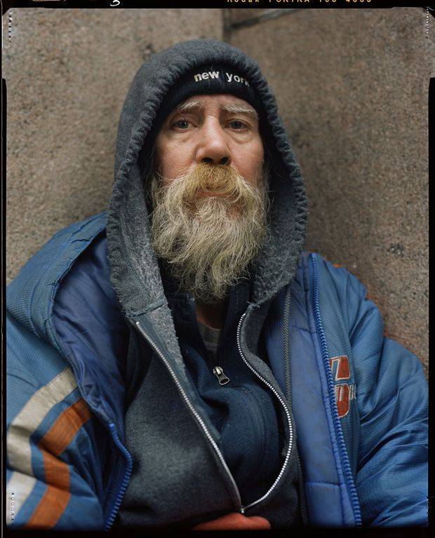 Andres Serrano S Portraits Of The Homeless In Nyc Feature Shoot Homeless People Portrait Homeless