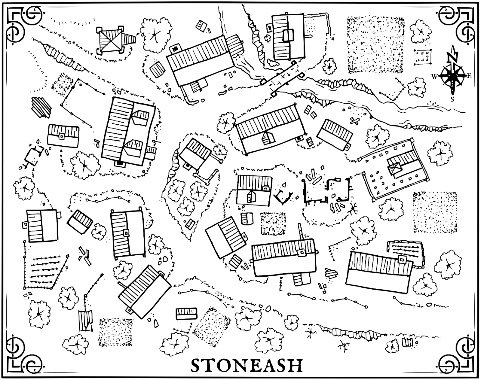 Msjx The Village Of Stoneash