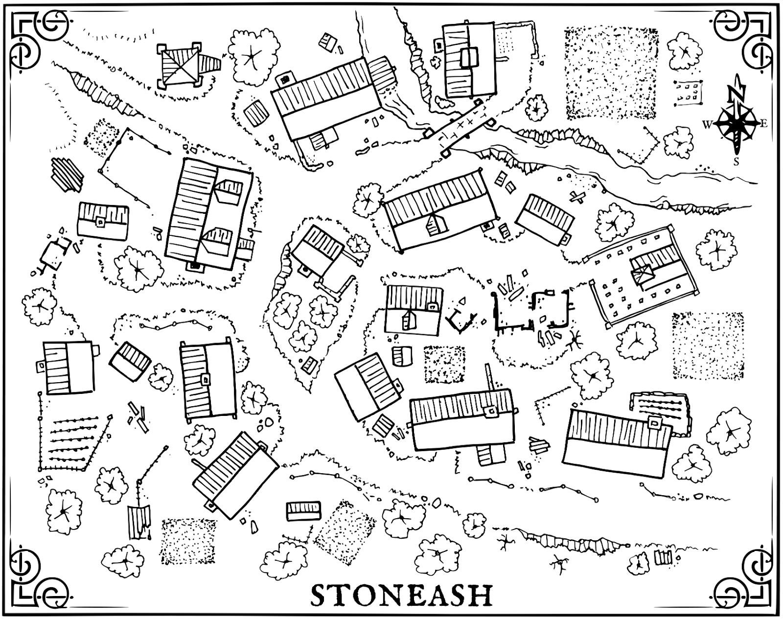 Msjx The Village Of Stoneash