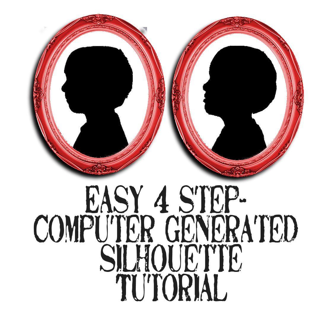 simple 4 step photo editing silhouette tutorial. Black Bedroom Furniture Sets. Home Design Ideas