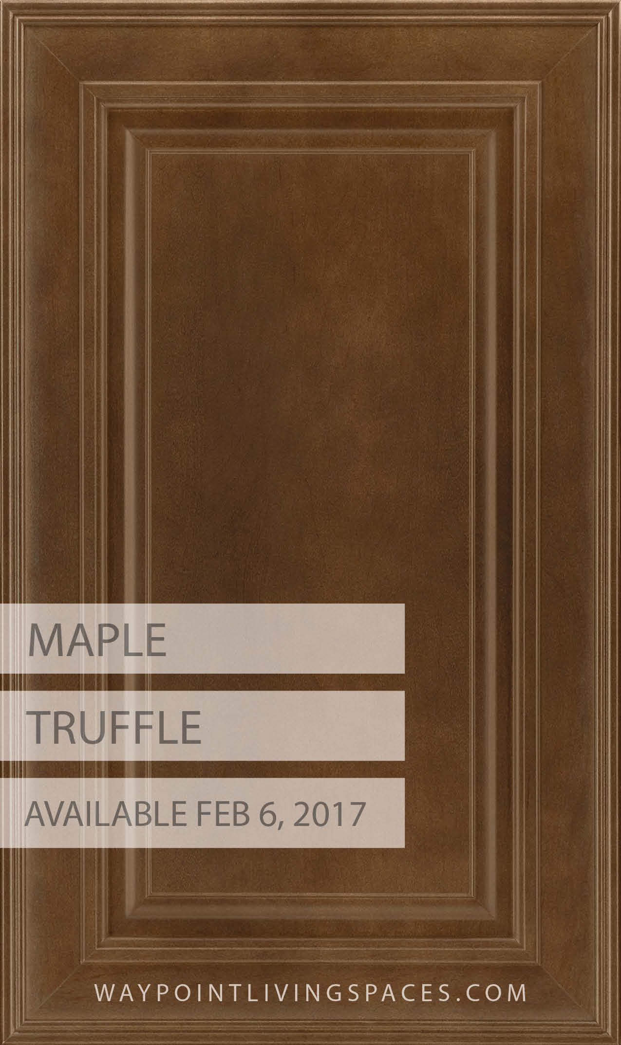 New Finish Maple Truffle In Door Style 720 Maple Cabinets Pinterest Truffle Doors And