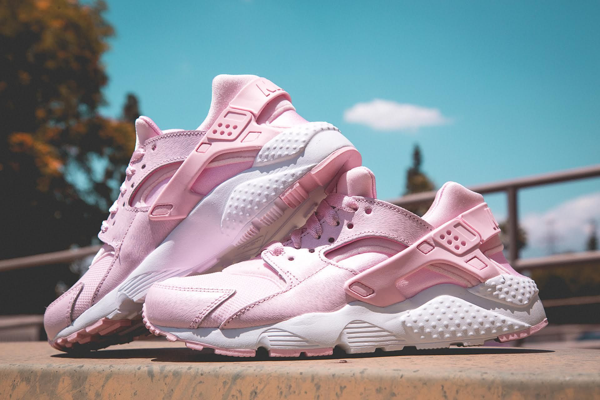 Nike Air Huarache in Baby Pink ,,@SHIEKH