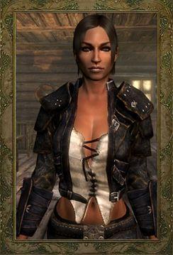 Thieves Guild Duelist Armor CBBEv3 Echo at Skyrim Nexus