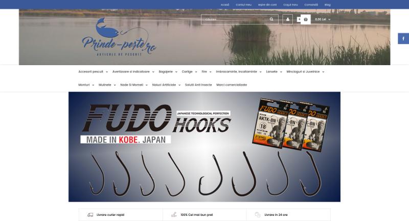 Magazin articole de pescuit recreativ si sportiv. Oferte si informatii saptamanale la inscriere. http://www.prinde-peste.ro