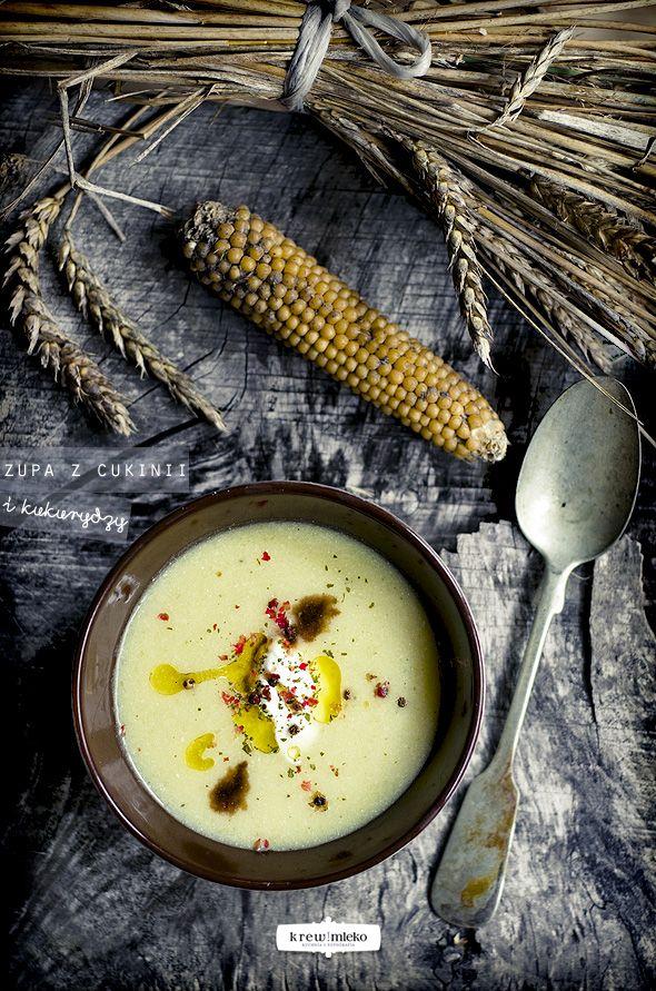 {Zucchini and Corn Soup} | Krew i mleko - kuchnia i fotografia