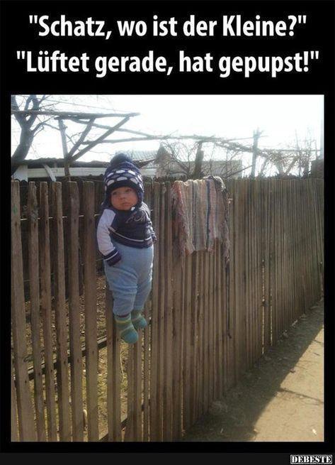 Schatz, wo ist der Kleine?   Lustige Bilder, Sprüche, Witze, echt lustig,  #Bil... -