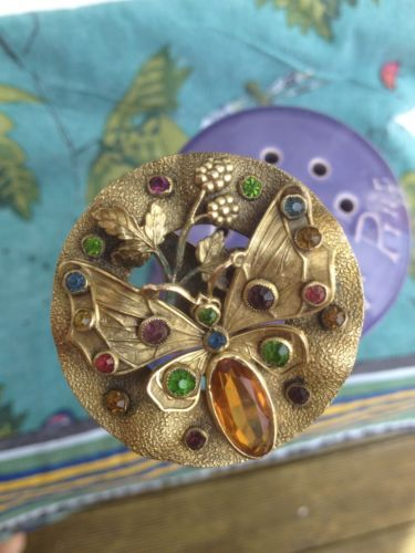 Antique Butterfly Hatpin Free Postage Circa 1900 Antique Hats Hat Pins Hats Vintage
