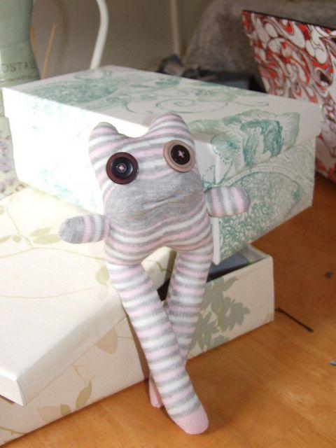 Sock monster | Sock animals | Sock monster, Sock animals, Socks