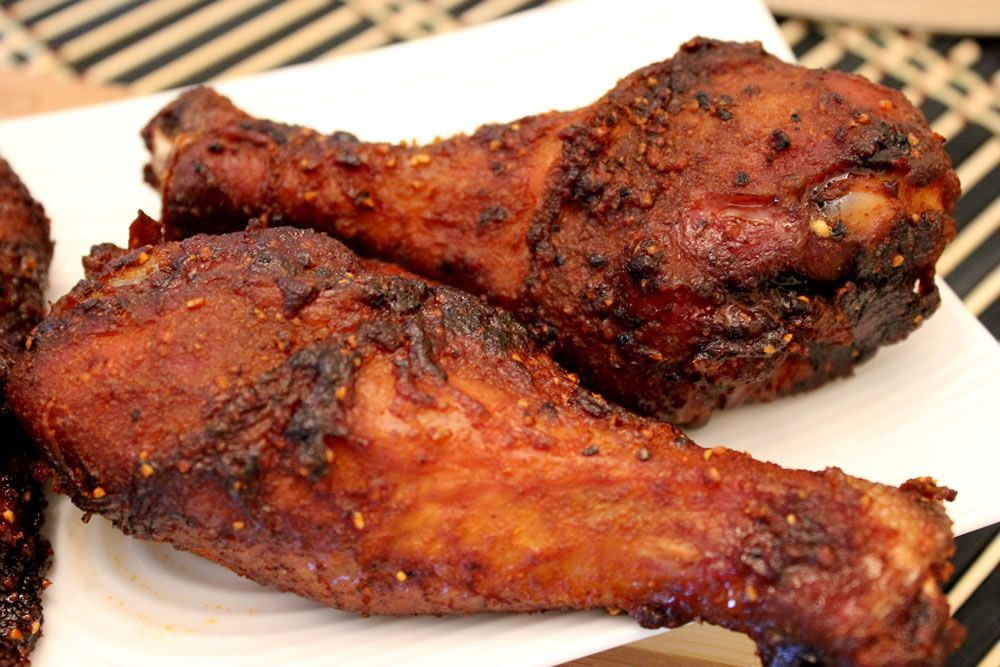 Smoked Chicken Legs And Thighs Smoking Meat Newsletter Smoker Recipes Smoked Chicken