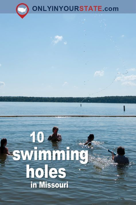 These 10 Swimming Holes Have The Clearest, Most Pristine