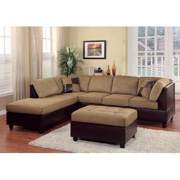Woodhaven Hill Comfort Living Modular Sectional U0026 Reviews | Wayfair