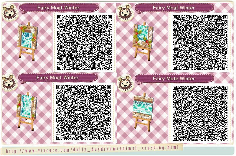 Animal Crossing New Leaf Qr Code Paths Pattern Animal Crossing