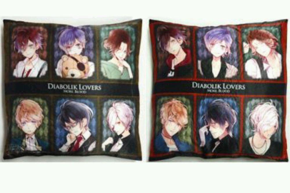Diabolik Lovers More, Blood Sakamaki Shu Ayato Laito Subaru Reiji Kanato cushion