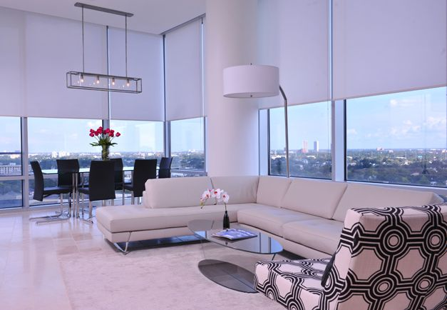 Current living room designed by montgomery roth for Current living room designs