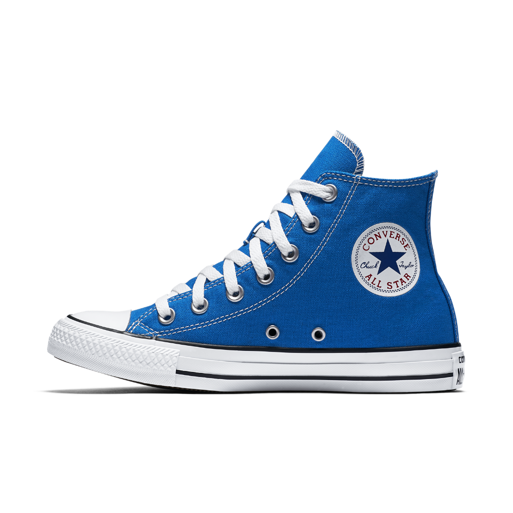 219b9800e2ebf2 Converse Chuck Taylor All Star Seasonal Colors High Top Shoe Size 13 (Blue)  - Clearance Sale