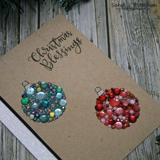 SSS STAMPtember Release: Embellished Ornaments