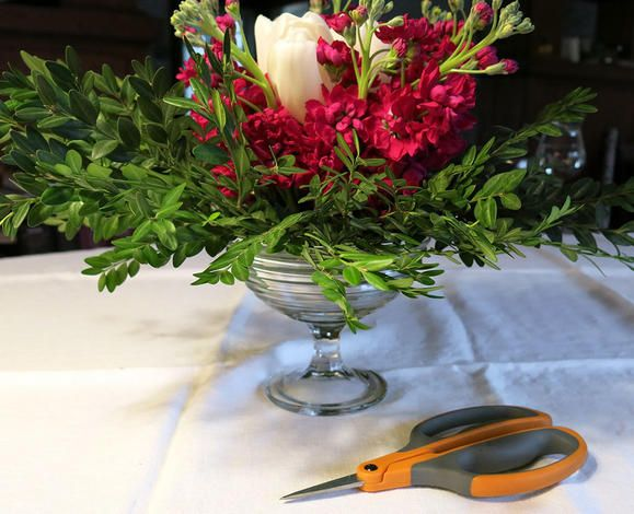 Floral arrangement with the Micro-tip Floral Snips