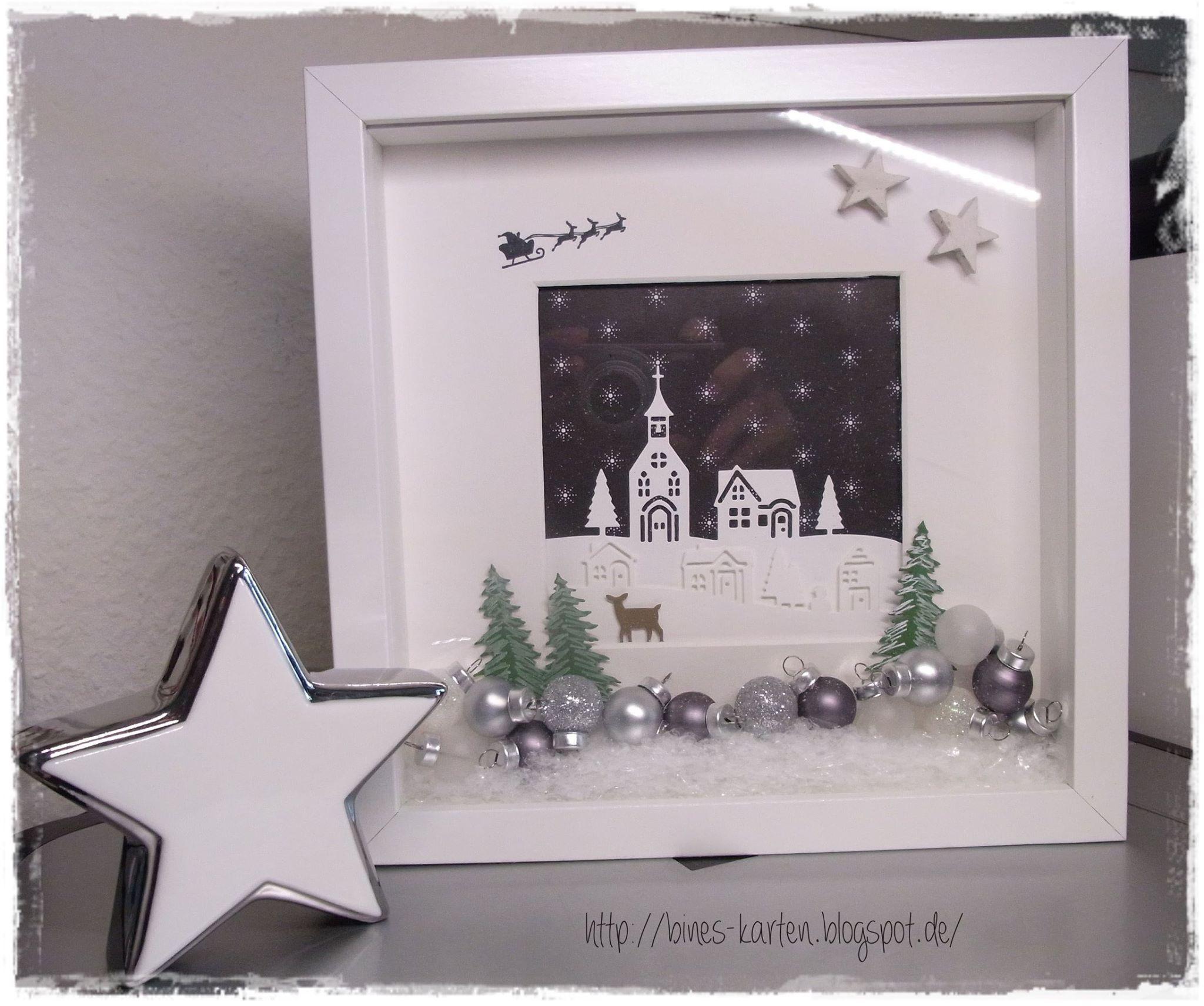 Pin von Heidi Hawks auf SU 3-D Christmas | Pinterest | Bilderrahmen ...