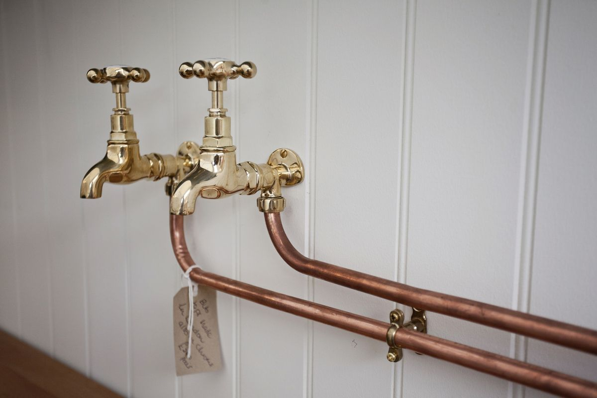 Burlanes Beautiful Vintage Bib Taps I Love These Laundry Room Renovation Wall Mounted Taps Kitchen Style