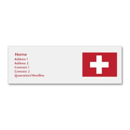 Switzerland skinny business cards rustic business card templates switzerland skinny business cards colourmoves Image collections