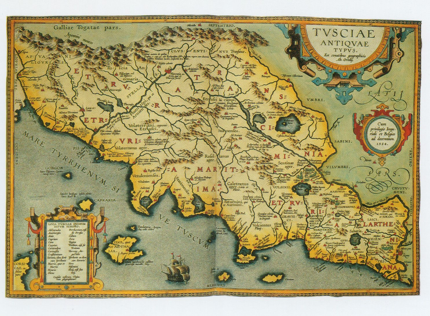 Ancient map of italytuscany tuscanyagriturismogiratola ancient map of italytuscany gumiabroncs Choice Image