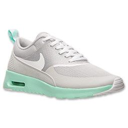 nike air max thea grey and mint green