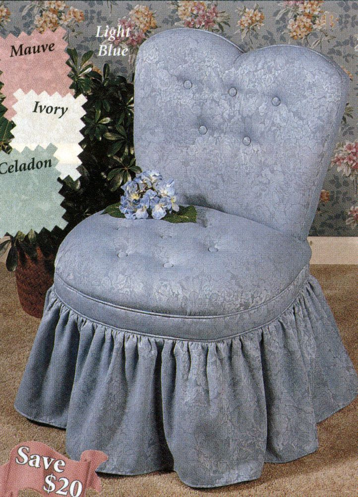 Light Blue Vanity Chair Slipper chairs, Teal dining chairs