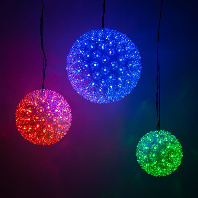 Rgb Led Christmas Lights.Rgb Led Multi Function Starlight Sphere Led Christmas