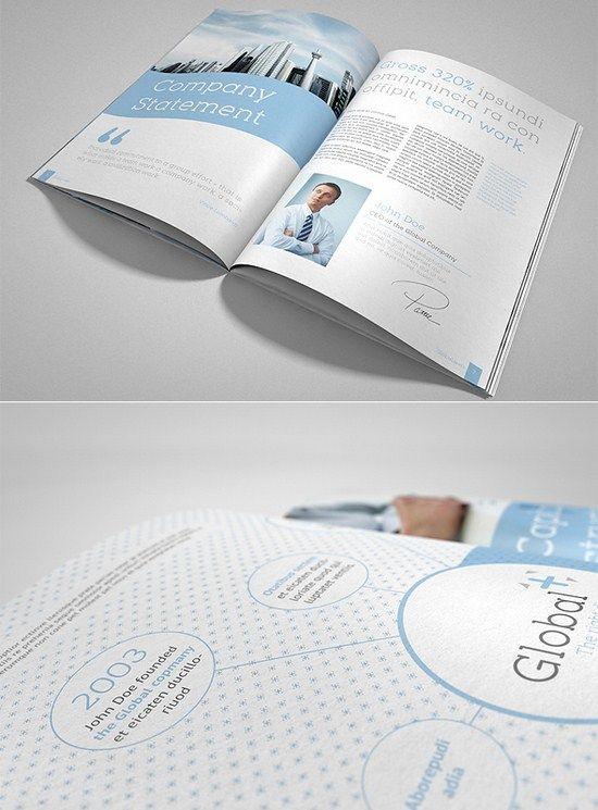 20 Outstanding and Modern Brochure design Ideas Design - modern brochure design