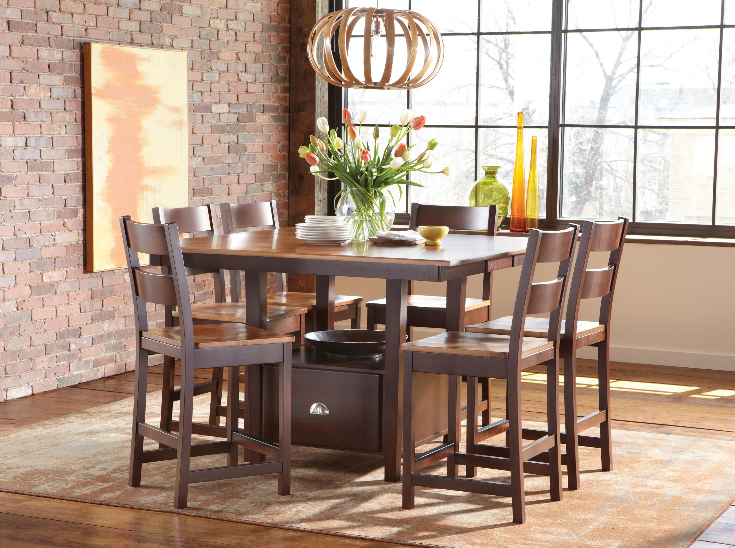 Larkin Gathering Collection Gathering Height Dining Rooms