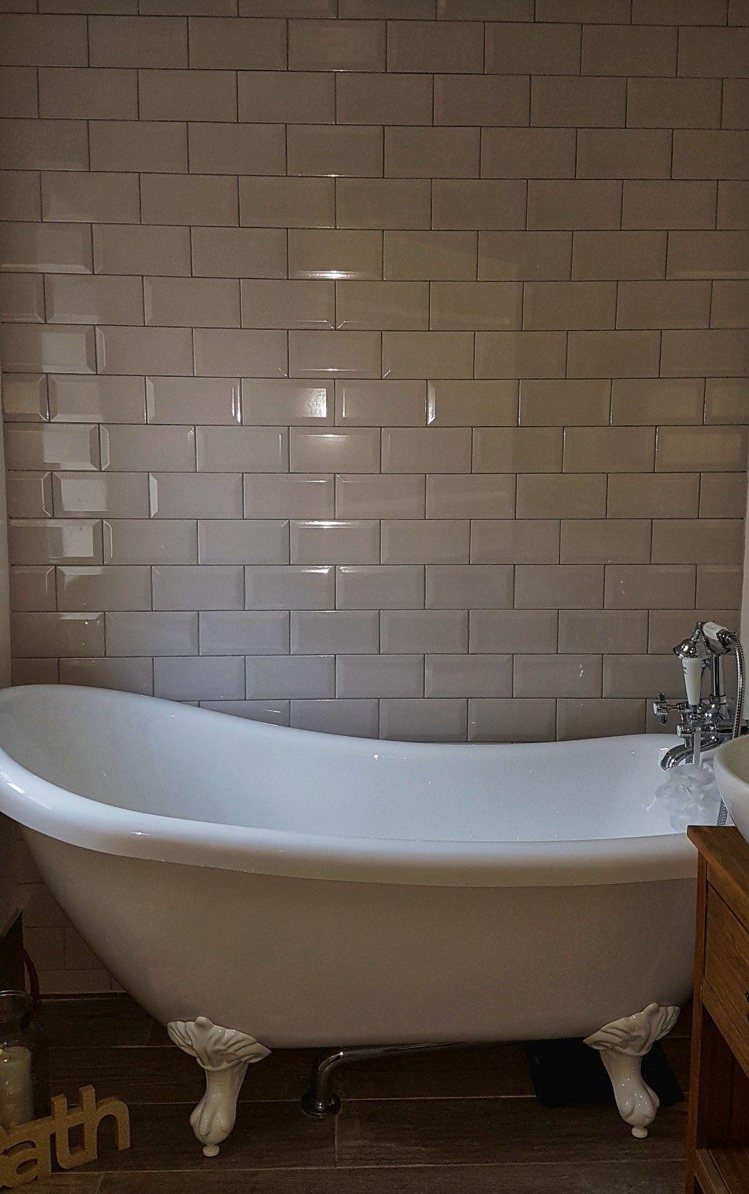 Laura Ashley Artisan Seaspray 75mm X 150mm Victoriaplum Com Grey Wall Tiles Bathroom Inspiration Bathroom Decor