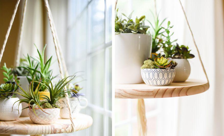 Wiszaca Polka Na Kwiaty Decor My Room Planter Pots