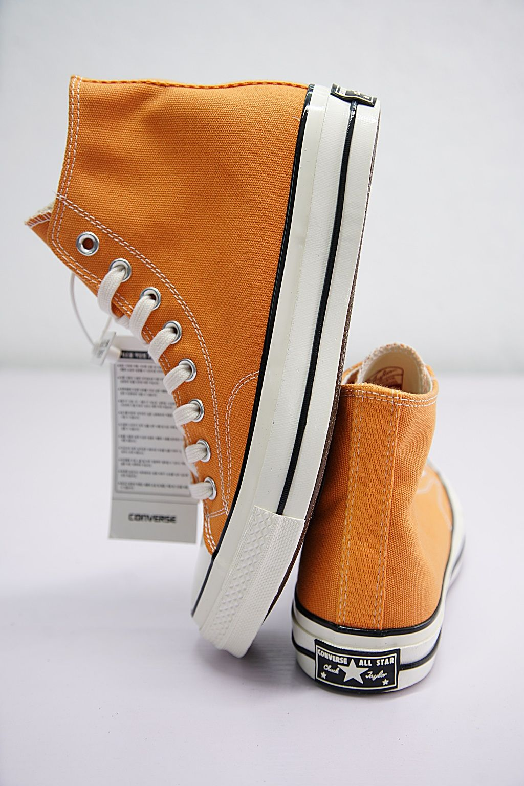 e5bd935f2f06 CONVERSE FIRST STRING CHUCK TAYLOR ALL STAR 70S HI TANGELO ORANGE 159622C