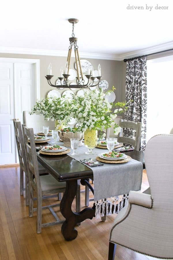 Progressive Dinner A Favorite Summer Salad Driven By Decor Dining Room Decor Dining Decor