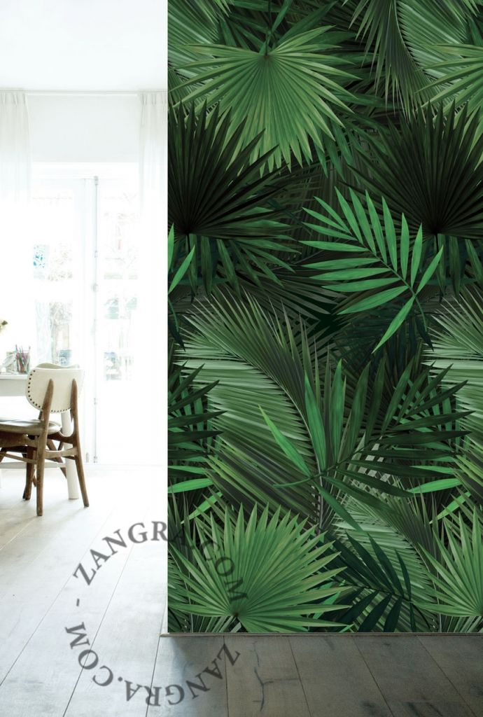 Papier peint tropical more wall d corations pinterest - Pinterest papier peint ...