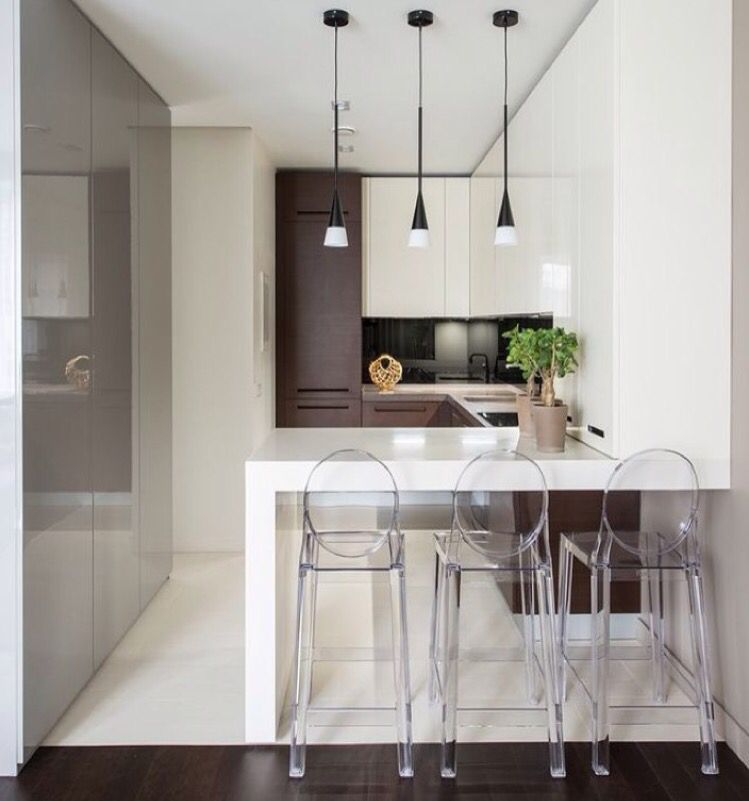 Think About Ghost Chairs For Island Modern Small Kitchen Design Bar