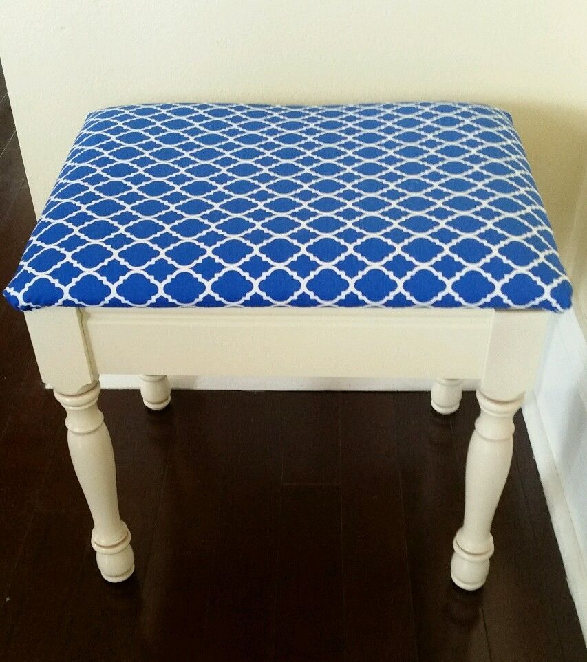 Details About Vanity Chair Stool For Bathroom Bedroom Cushioned - Bathroom vanity chair or stool