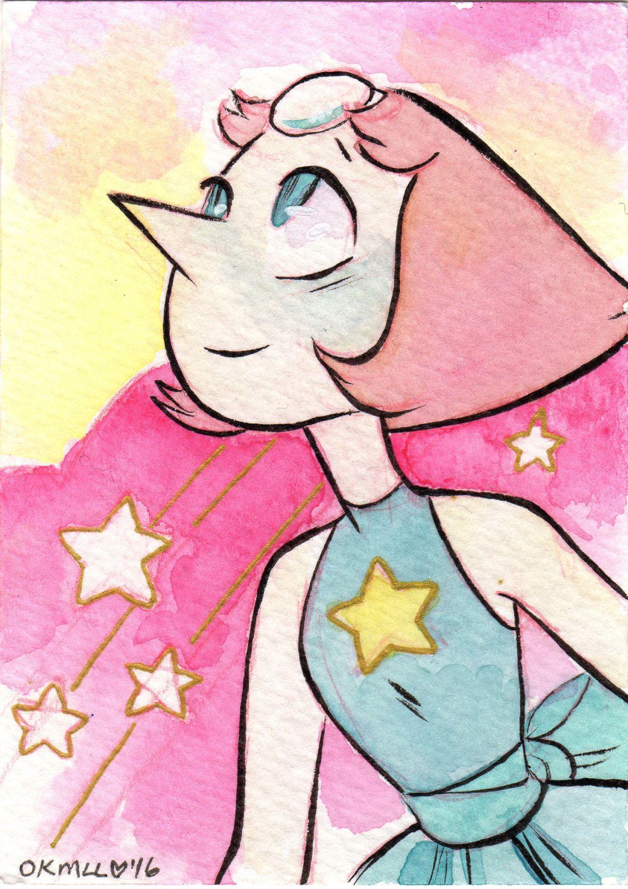 Pearl Ideias Aguarela Desenhos Cartoon Network E Steven