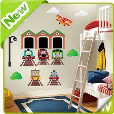 Thomas The Tank Engine Wall Stickers Decor Decal Art Nursery Childrens Room  Kids Part 73