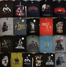 Conan The Barbarian Movie Sheild Adult T Shirt